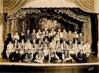 Performers at Clinton Hall 1926